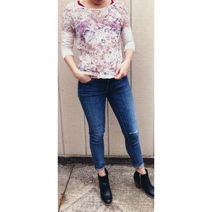RW&Co- Floral Top